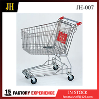 China Wholesale Australian Supermarket Hand Push Shopping Trolley