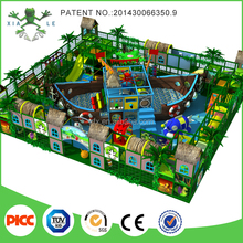 2015 Latest Jungle Forest and Priate Ship Theme Kids Indoor Soft Playground