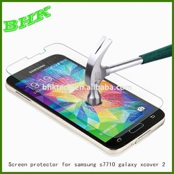 explosion resistant unbreakable screen protector for samsung s7710 galaxy xcover 2,screen protector tempered glass material