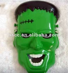 China Manufacturer Eco-friendly Green Plastic The Avengers Hero Hulk Mask