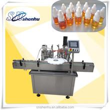 automatic electronic cigarette liquid filler and capper manufacture