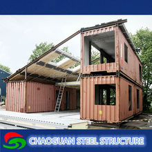 Special usage structure stabilized renovated container house for sale