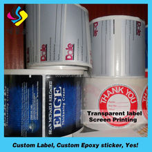 Hot sale advanced basic vinyl reverse sticker printing