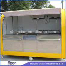 FS-290A shanghai jiexian Beautiful Cost-saving Widely Used Prefabricated food kiosk design mobile food van