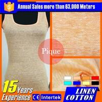 2016 Popular wholesale textile linen fabrics wholesale plus size clothing