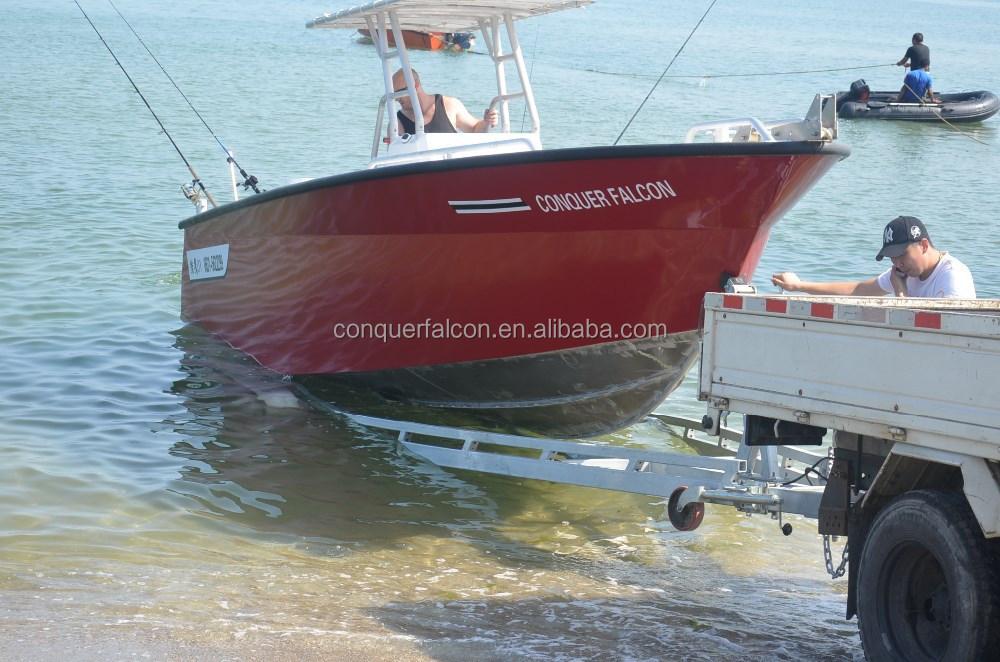 7m aluminum fishing boat with 200hp yamaha engine buy for Yamaha fishing boats