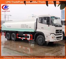 Stainless steel tank truck lhd rhd Dongfeng watering sprinkler 3500gallon water tank truck