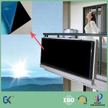 Negro cromado placa de cobre para el calentador de agua solar