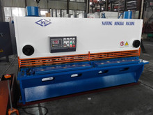 New Condition and ISO Certification QC11Y-6x2500 hydraulic guillotine sheet steel cutting machine