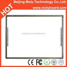 Professional Manufacturer provide for school smart class 78 82 85 96 104 120 inch portable interactive whiteboard wireless