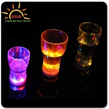 LED Light Up Flashing Cola Cups Glass Ideal for party xmas bars clubs