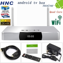 HNC android box factory wifi 802.11n Quad Core 8GB Bluetooth 4.0 tv box 3d movies smart tv box android