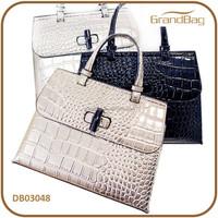 Hot Sale New Fashion Bling Bling Crocodile Emboss PU Leather Lady Hand bag PU Shoulder bags