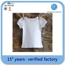 Oem Service Wholesale Baby T-Shirts Plain Bulk Blank T-Shirts For Baby