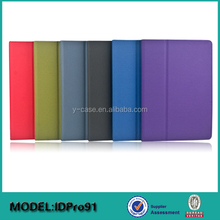 New arrival protect leather tablet case for iPad Pro 12.9' , for iPad pro stand case