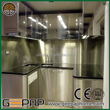 Manufacturer customized stainless steel kitchen table for sale