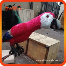 0.6 meters long animatronic realistic animal parrot
