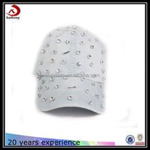 2015 high quality fashion rhinestone cowboy baseball cap/hats