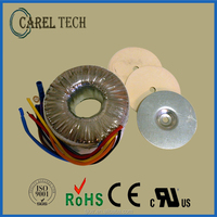 CE ROHS approved, with 2-year product warranty toroidal transformer 220V 18V 500W, toroidal transformer 12V 50a