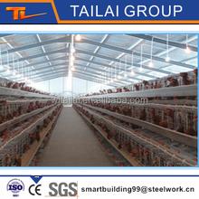 Design Prefabricated Steel Structure Chicken House
