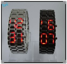 2015 wholesale lava display light iron fashion for new style led digital watch