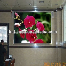 P6 indoor led display /hot hot xxx video easy to installation screen/16-bit color transform