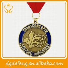 Preciosas medalla de latón o bronce de alta calidad con el mejor precio del mayorsita chino
