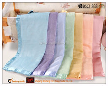 Hot sale new products bamboo silk blended new born baby swaddle blanket