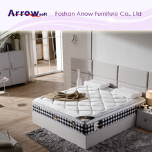 New design pocket spring mattress with memory foam and latex