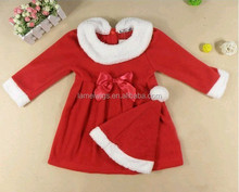 Christmas Clothing Sets 2-4 Years Girl Dress Boy Santa Suit Novelty Costume kids Children clothes