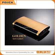 Metal fashion OEM Customized Logo 12000mAh power bank, manufacturer price power banks