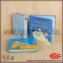 A todo Color de tapa dura de impresión de libros con buena calidad DH1083 #