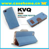 Hit color PU leather cell phone/mobile cover/case for iphone 6 4.7/ leather case for iphone5,5s