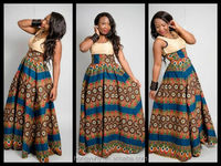 2016 New design fashion african traditional dress,dashiki long dress for african women M40682