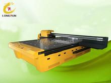 Large format high speed glass door digital flatbed UV glass printer shenzhen factory direct sale uv flatbed glass printer .