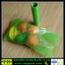 Chinese factory plastic food bags on roll for supermarket