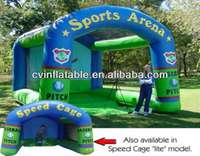 outdoor inflatable Speed Pitch,Baseball Soccer, Football Sports Arena