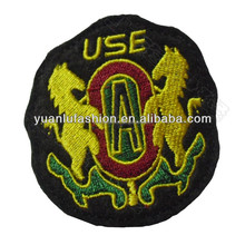 fashion design embroider woven patch
