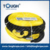 tr-10 cable winch Dyneema synthetic 4x4 winch rope with hook thimble sleeve packed as full set
