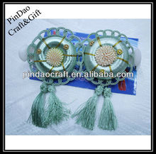 2015 fashion decorative double colour plastic curtain clip