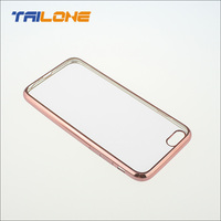 smart handphone rose gold case for iphone 6s