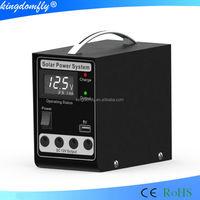 mini 5W portable solar electricity generator solar panel system for led lights