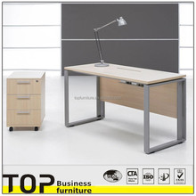 2015 Most popular metal office table legs wooden office table