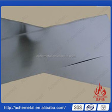 high purity tungsten sheet tungsten foil wolfram sheet (W sheet,W foil)