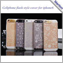 Luxury Stunning Bling phone Flash LED IC Hard Cover Case for iPhone6