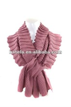 2012 new and fashion knitted pashmina