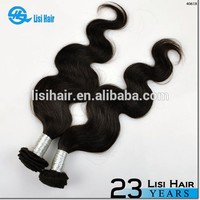 Stock Selling Natural Color Brazilian Virgin Hair Human Hair 27 Pieces