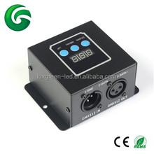 12V/24V DC Mini DMX Decoder/DMX Controller 3CH/4CH Used with 3years warranty
