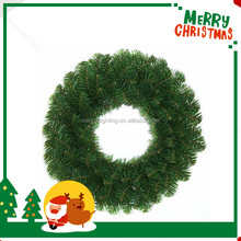 Hot sale PE christma wreath for festival light