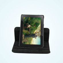 """Brand new PU black rotation cover case for Amazon Kindle Fire HDX 8.9"""" tablet with hard shell"""